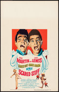"Movie Posters:Comedy, Scared Stiff (Paramount, 1953). Window Card (14"" X 22""). Comedy.. ..."