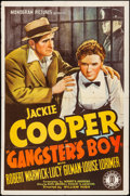 "Movie Posters:Drama, Gangster's Boy (Monogram, 1938). One Sheet (27"" X 41""). Drama.. ..."