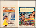 """Movie Posters:Drama, Strategic Air Command & Other Lot (Paramount, 1955). WindowCards (2) (14"""" X 22""""). Drama.. ... (Total: 2 Items)"""