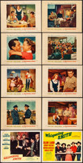 "Movie Posters:Western, Whispering Smith & Others Lot (Paramount, 1949/ R-1956). LobbyCards (3) & Lobby Card Set of 8 (11"" X 14""). Western.. ...(Total: 11 Items)"