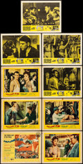"Movie Posters:Drama, Trapeze & Other Lot (United Artists, 1956). Title Lobby Card & Lobby Cards (8) (11"" X 14""). Drama.. ... (Total: 9 Items)"