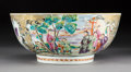 Asian:Chinese, A Chinese Export Famille Rose Porcelain Bowl, Qing Dynasty, 19th century. 4-3/8 x 10-1/8 inches (11.1 x 25.7 cm). PROPERTY...