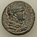 Ancients:Roman Provincial , Ancients: JUDAEA. Caesarea Paneas. Agrippa II (AD 49/50-94/95). AE(25mm, 11.03 gm, 1h). VF....
