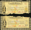 Obsoletes By State:Iowa, (Des Moines), IA- State of Iowa Stamp Note Polk County $1 1933 TwoExamples Shafer IA575-1b Fine.. ... (Total: 2 notes)