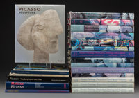 Twenty-Two Pablo Picasso Reference Books and Publications 12-1/2 x 9-1/2 x 1-1/2 inches (31.8 x 24.1 x 3.8 cm) (la