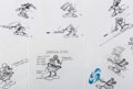 animation art:Model Sheet, Epic Mickey Mickey Mouse Model Sheet Drawings by Carson VanOsten Original Art Group of 25 (Walt Disney, 2007).... (Total: 25Items)