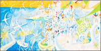 """Dr. Seuss """"I Dreamed I Was a Doorman at the Hotel Coronado"""" Limited Edition Serigraph Patron's Collection #LXX..."""
