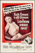 """Movie Posters:Mystery, Lightning Strikes Twice & Other Lot (Warner Brothers, 1951).One Sheets (2) (27"""" X 41""""). Mystery.. ... (Total: 2 Items)"""