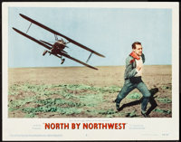 "North by Northwest (MGM, 1959). Lobby Card (11"" X 14""). Hitchcock"