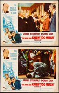 "Movie Posters:Hitchcock, The Man Who Knew Too Much (Paramount, R-1963). Lobby Cards (2) (11"" X 14""). Hitchcock.. ... (Total: 2 Items)"