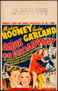 """Movie Posters:Musical, Babes on Broadway (MGM, 1941). Fine/Very Fine. Window Card (14"""" X 22""""). Musical.. ..."""