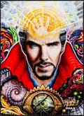 "Movie Posters:Fantasy, Doctor Strange (Walt Disney Studios, 2016). IMAX Poster (9.5"" X13"") Randal Roberts Artwork. Fantasy.. ..."