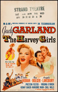 """Movie Posters:Musical, The Harvey Girls (MGM, 1946). Window Card (14"""" X 22""""). Musical....."""