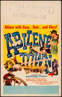 "Abilene Town & Other Lot (United Artists, 1946). Very Fine. Window Cards (3) (14"" X 22""). Western..."