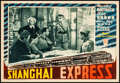 "Movie Posters:Drama, Shanghai Express (Titanus, R-1950s). Italian Photobusta (19"" X13.25"") Dott Jr. Artwork. Drama.. ..."