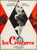 "Movie Posters:Fantasy, Les Creatures (Columbia, 1966). French Moyenne (23"" X 31.25"")Georges Kerfyser Artwork. Fantasy.. ..."
