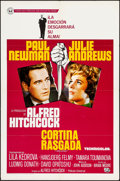 """Movie Posters:Hitchcock, Torn Curtain & Others Lot (Universal International, 1966).Spanish Language One Sheet & One Sheets (2) (27"""" X 41"""").Hitchcoc... (Total: 3 Items)"""