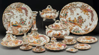 A One Hundred Thirty-Nine-Piece Royal Crown Derby Olde Avesbury Pattern Porcelain Dinner Ser