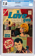 Silver Age (1956-1969):Romance, I Love You #60 (Charlton, 1966) CGC FN/VF 7.0 Off-white pages....