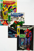 Bronze Age (1970-1979):Superhero, The Amazing Spider-Man Group of 4 (Marvel, 1969-71) Condition:Average VF+.... (Total: 4 Comic Books)