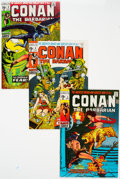 Bronze Age (1970-1979):Adventure, Conan the Barbarian #5 and 8-11 Group (Marvel, 1971) Condition: Average VF+.... (Total: 5 Comic Books)