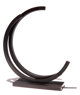 Bernar Venet (b. 1941) 220.5 Degree Arc, 1987 Rolled steel with black patina 24-1/2 x 21-3/4 x 2-1/2 inches (62.2 x 5