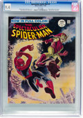 Magazines:Superhero, Spectacular Spider-Man #2 (Marvel, 1968) CGC NM 9.4 White pages....