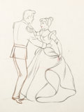 Animation Art:Production Drawing, Cinderella Animation Drawing Original Art (Walt Disney,1950)....