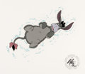 Animation Art:Production Cel, Winnie the Pooh and a Day for Eeyore Production Cel (WaltDisney, 1983)....