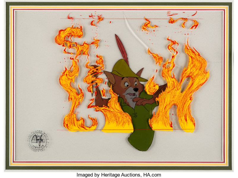 Robin Hood Art Disney