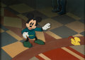 Animation Art:Production Cel, The Brave Little Tailor Mickey Mouse Production Cel and Custom Background (Walt Disney, 1938)....