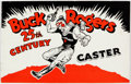 Premiums:Radio, Buck Rogers Caster Sets Catalog (Rapaport Brothers, 1935)....