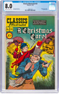 Golden Age (1938-1955):Classics Illustrated, Classics Illustrated #53 (Gilberton, 1948) CGC VF 8.0 Cream to off-white pages....