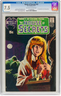 Bronze Age (1970-1979):Horror, House of Secrets #92 (DC, 1971) CGC VF- 7.5 Off-white to white pages....