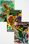 Silver Age (1956-1969):Superhero, Fantastic Four Group of 5 (Marvel, 1968-70) Condition: AverageVF/NM.... (Total: 5 Comic Books)