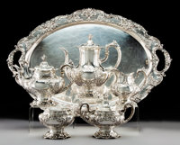 A Six-Piece Reed & Barton Francis I Pattern Silver Tea & Coffee Service with a Wallace <