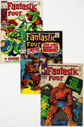 Silver Age (1956-1969):Superhero, Fantastic Four Group of 7 (Marvel, 1966-70) Condition: AverageFN.... (Total: 7 Comic Books)