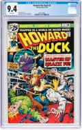 Bronze Age (1970-1979):Humor, Howard the Duck #3 (Marvel, 1976) CGC NM 9.4 White pages....