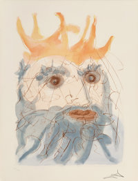 Salvador Dalí (1904-1989) Our Historical Heritage, 1975 Complete set of 11 drypoints and pochoirs in