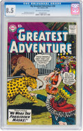 Silver Age (1956-1969):Science Fiction, My Greatest Adventure #28 (DC, 1959) CGC VF+ 8.5 Off-white to white pages....