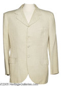 Hollywood Memorabilia:Costumes, Bob Hope Sports Jacket. Here is a Macintosh sport coat owned andworn by the famous entertainer. A button is missing from th...