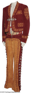 "Hollywood Memorabilia:Costumes, O. J. Simpson Mariachi Outfit Jacket and pants worn by theathlete-turned-actor in the 1994 slapstick comedy sequel ""TheNak..."