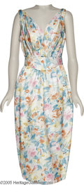 "Hollywood Memorabilia:Costumes, Kim Webb ""Cry-Baby"" Costume Dress. A floral print dress worn by theactress in John Waters' 1990 spoof of 1950s juvenile del..."