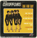"""Music Memorabilia:Recordings, Chiffons """"One Fine Day"""" LP Laurie 2020 Mono (1963). The title trackwas a smash follow-up to the slick girl group's first hi..."""