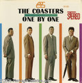 """Music Memorabilia:Recordings, Coasters """"One by One"""" LP Atco 33-123 Stereo (1960). The hitmakinggroup (six Top 10 singles 1957-59) played it straight with..."""