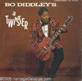 """Music Memorabilia:Recordings, """"Bo Diddley's a Twister"""" Promo LP Checker 2982 Mono (1962). Whitelabel promo copy of a strong roots-of-rock LP. Listening t..."""