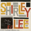 """Music Memorabilia:Recordings, Shirley and Lee """"Let the Good Times Roll"""" LP Aladdin 807 Mono(1956). The title tune is a classic early Rock/R&B hit, andth..."""