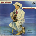 """Music Memorabilia:Recordings, Hank Williams """"Moanin' the Blues"""" LP MGM E3330 Mono (1956). Themost influential Country songwriter and performer was 23 yea..."""
