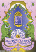 Music Memorabilia:Posters, Big Brother and the Holding Company California Hall, 6/2-3/67(Ramlala, 1967) Janis Joplin and her band, Big Brother and the...