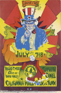 """Music Memorabilia:Posters, Blue Cheer """"Spirit of '67"""" California Hall Poster, 6/7-8/67 (1967).From San Francisco's """"Summer of Love"""" comes this groovy ..."""
